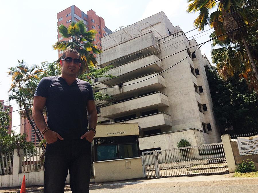 Monaco Building Medellin pablo escobar
