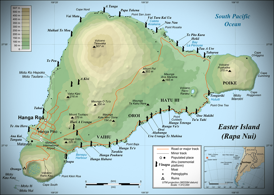 Easter Island Everything You Need To Know About This Magical Place - Easter island map