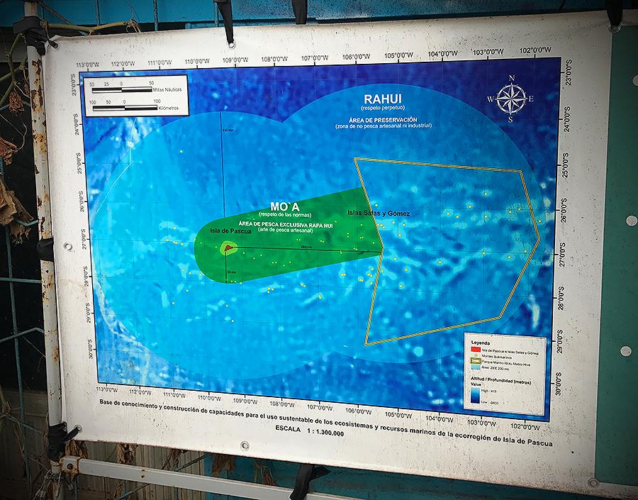 easter island territorial waters