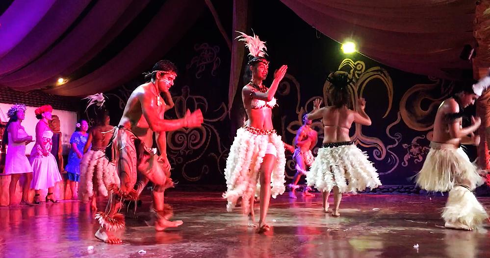easter island traditional dance kari kari group