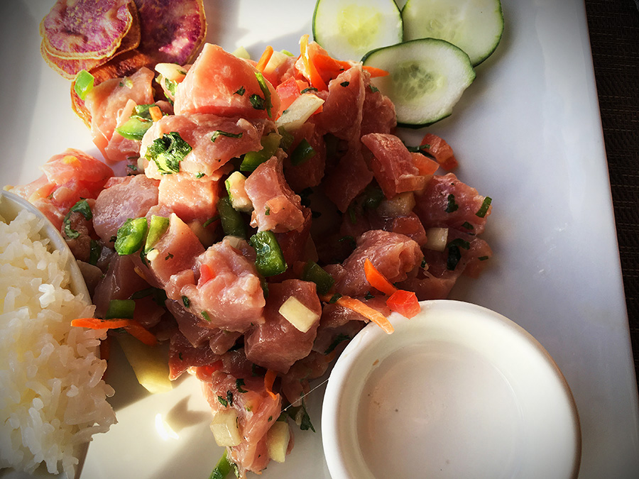 food on easter island ceviche