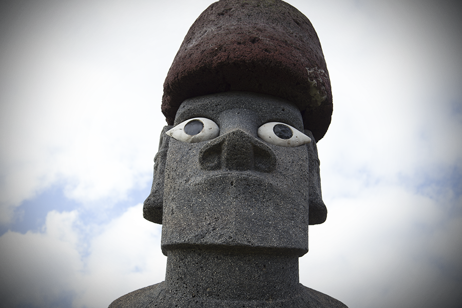 meaning of eyes of Moai statues on easter island