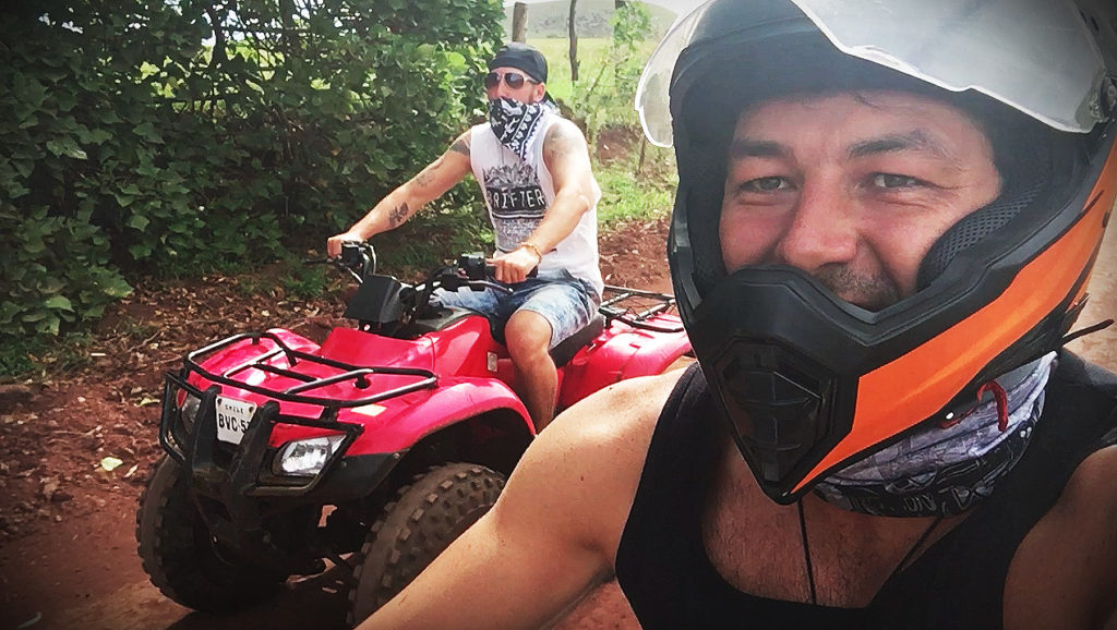 renting quads on easter island