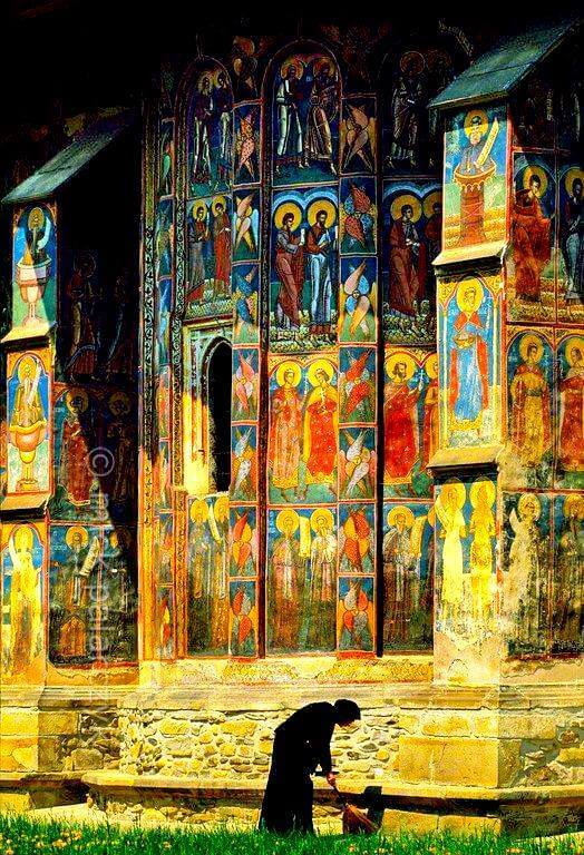 Manastirea Moldovita din Bucovina