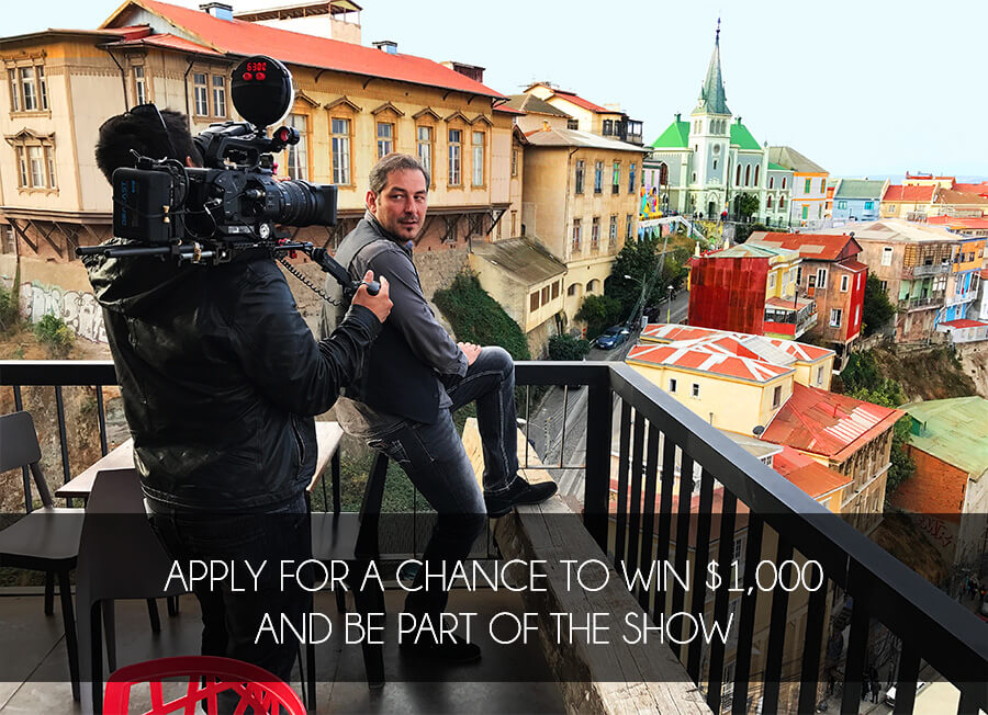 Travel By Dart TV Show Scholarship - Throw a dart at a map of the us