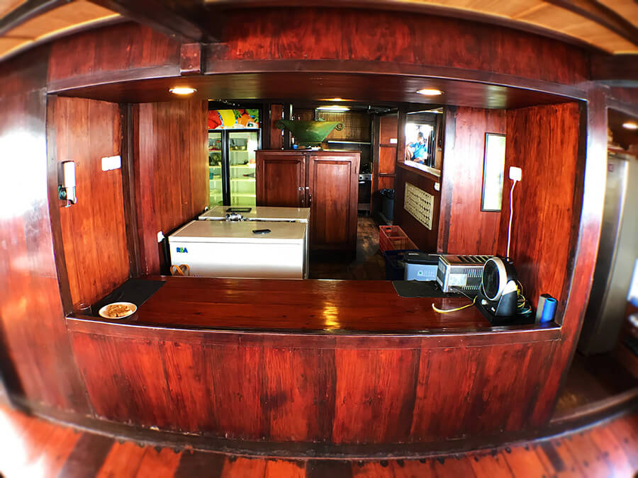 pirate ship kitchen
