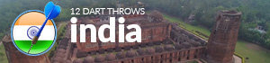 throw a dart at the world map india