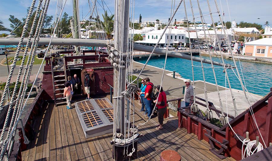 bermuda attractions deliverance ship