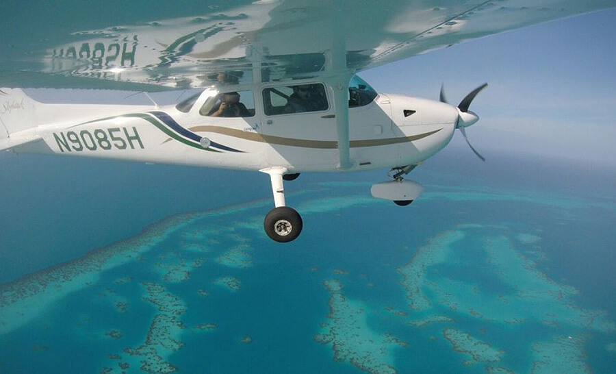 aerial tour in bermuda