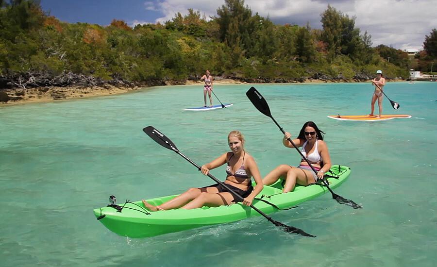 kayaking bermuda