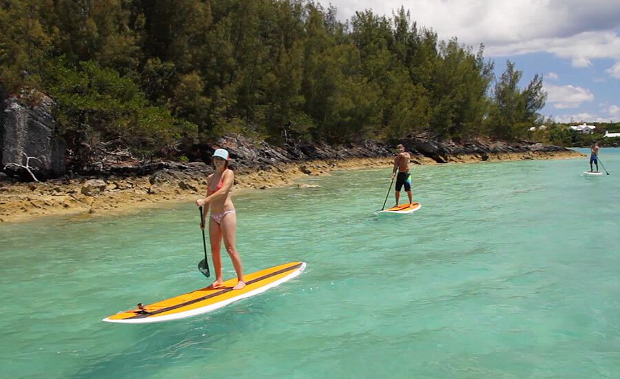 paddleboarding bermuda