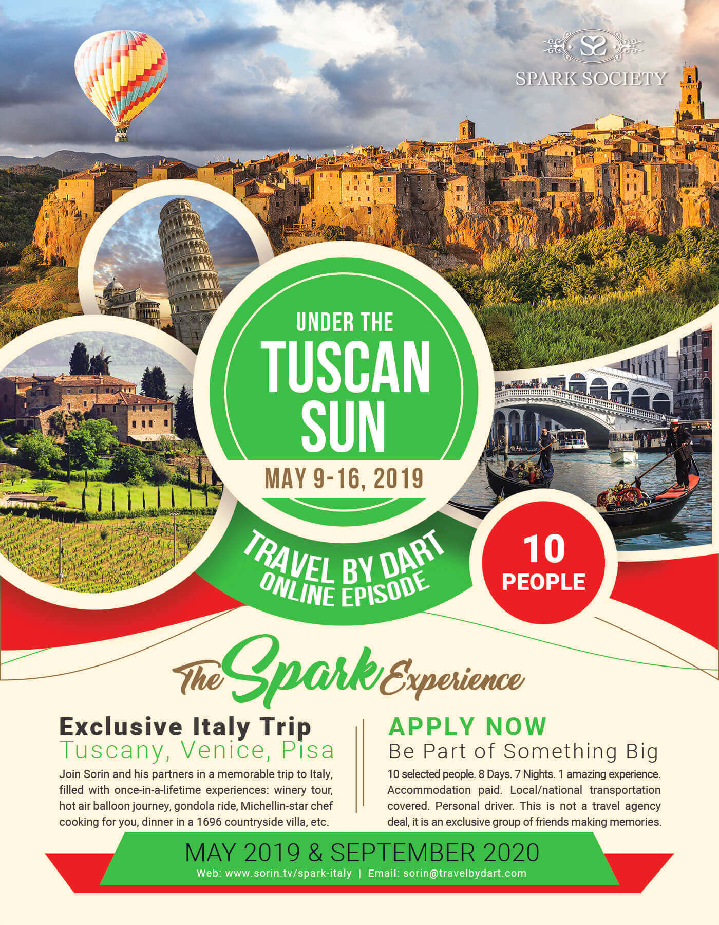 italy tour packages including airfare